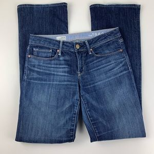 Gap Womens 28 / 6 Reg Jeans Sexy Boot Mid Rise